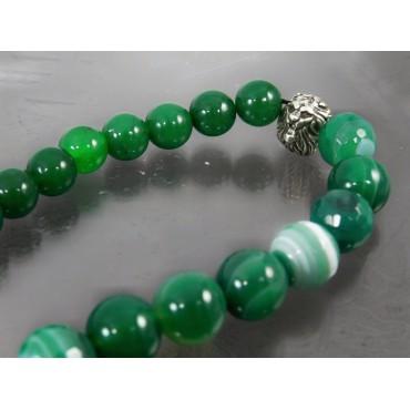 Чотки з Агату зеленого